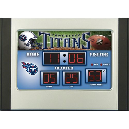 Tennessee Titans Scoreboard Desk Clock at Amazon.com