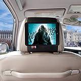 TFY Car Headrest Mount Holder for iPad Mini & iPad Mini 2, Fast-Attach Fast-Release Edition, Black