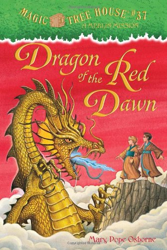 The Magic Tree House #37 Dragon of the Red Dawn hardcover -- like new condition