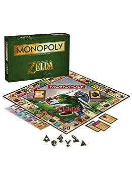 Monopoly - 332414 - La Légende De Zelda Jeu De Société - Version Import