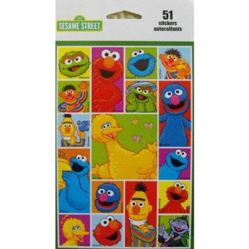 Sesame Street 51 Stickers