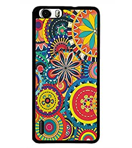 PrintDhaba Pattern D-5139 Back Case Cover for HUAWEI HONOR 6 (Multi-Coloured)
