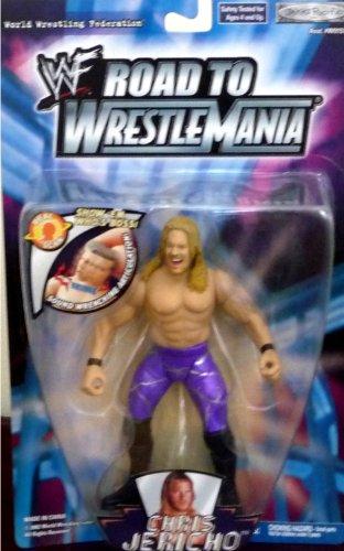 Buy Low Price Jakks Pacific CHRIS JERICHO WWE WWF Road to Wrestlemania Figure (B004X75VMI)