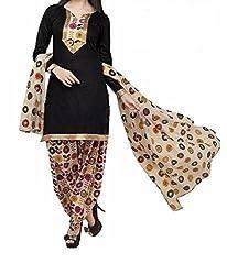 RV Creation Designer Ethnic Cotton Printed Dress Materials