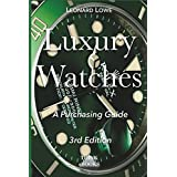 A luxury watch is more than \$5,000. So naturally in this topic there is a lot of money involved. This book will help you to avoid wrong decisions that would cost you huge amounts of money. It will help you to understand how the luxury watch market w...