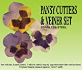 Pansy Cutters & Veiners Set