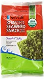 Seas Gift Organic Roasted Korean Seaweed Snack Kim Nori, Sweet N Salty, 0.17 Ounce (Pack of 24)