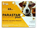 Novartis Parastar Plus Flea and Tick Control for Dogs, 4- to 22-Pound, Orange