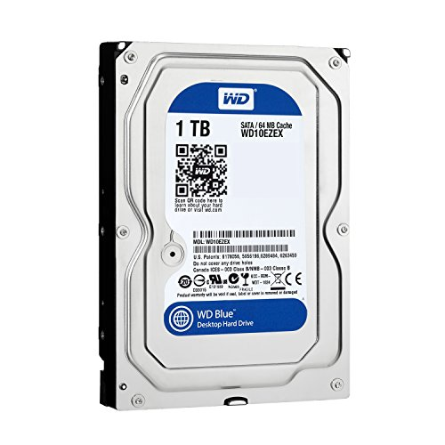 [Amazon.co.jp limited edition] WD Blue 3.5 inch 7,200rpm 1.0 TB 64 MB cache SATA3.0 WD10EZEX/N [frustration-free packaging (FFP)]