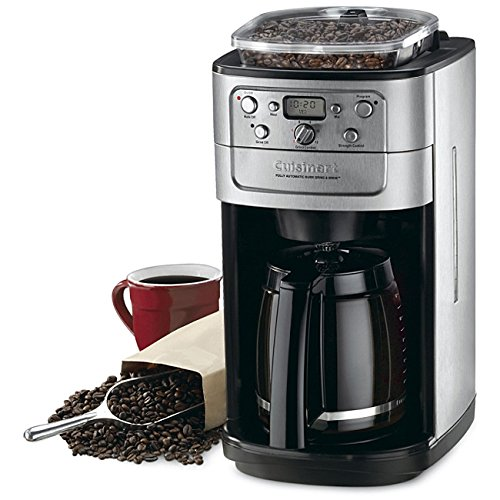Cuisinart DGB-700BC Grind-and-Brew 12-Cup Automatic Coffeemaker, Brushed Chrome/Black (Grind An Brew compare prices)