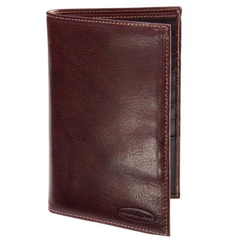 Luxury Brown Leather Dress Wallet