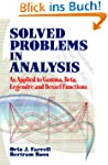 Solved Problems in Analysis: As Appli...
