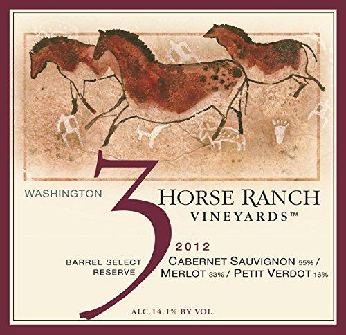 2012 3 Horse Ranch Reserve Cabernet Sauvignon/Merlot/Petit Verdot 750 Ml
