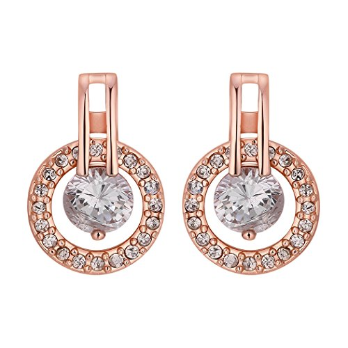 duo-la-simple-cubic-zirconia-18k-rose-gold-plated-lady-charm-stud-earrings