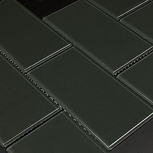 Black - Martini Mosaic - Blocco - Turtle Grey, 10 SQ.FT (BOX), Blocco