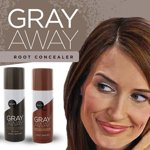 Gray Away Root Concealer- Light Brown