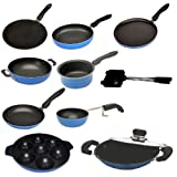 Apricoat Non-Stick Cookware Set, 10-Pieces