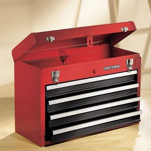 Craftsman 4 Drawer Chest with Large Top Compartment