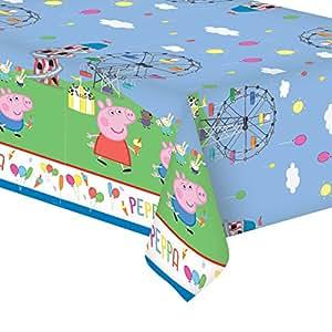 Gemma International Peppa Pig Party Plastic Tablecover|1 pc