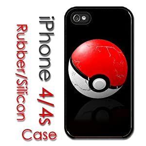Amazon.com: iPhone 5s for kids Rubber Silicone Case - Pokeball 3D pokmon pikachu cool: Cell