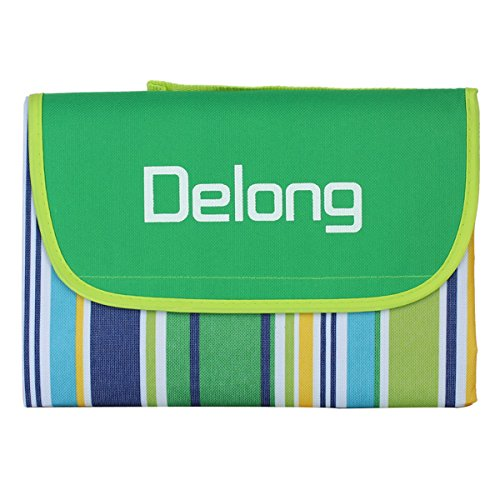 Delong Beach & Picnic Blanket Waterproof With Tote PB-01 Extra Large 78