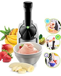 The Healthy Dessert Maker Frozen Fruit Soft Serve Treat Machine Pack of 1(Color May Vary)