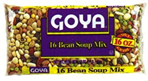 Goya Bean Soup Mix 16 oz