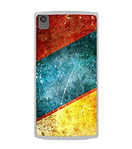 Multicolour Pattern 2D Hard Polycarbonate Designer Back Case Cover for OnePlus X :: One Plus X :: One+X