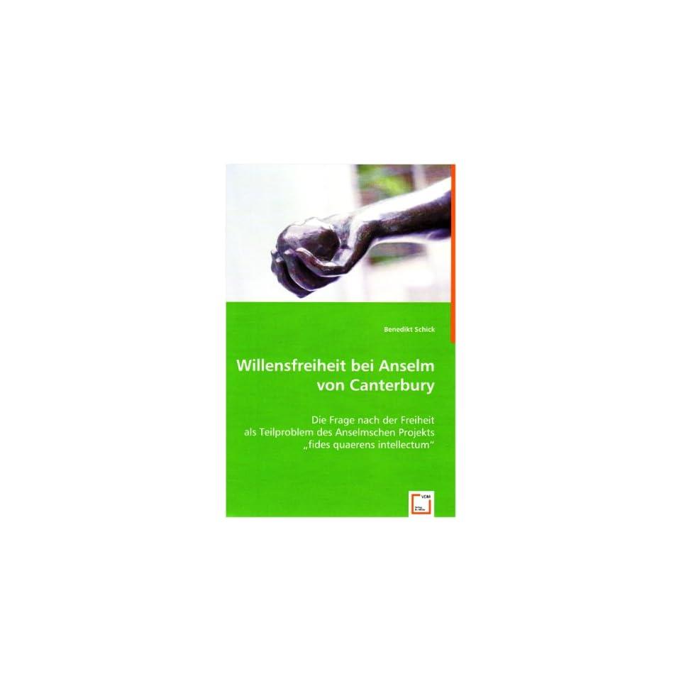 fides quaerens intellectum (9783639027884) Benedikt Schick Books