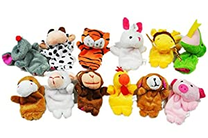 12PCS A SET Finger Puppet/Dolls/Toys Story-telling Props/Tools Toy Model Babies/Kids/Children Toys,Chinese zodiac from Viskey