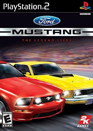 Ford Mustang the Legend Lives Ps2