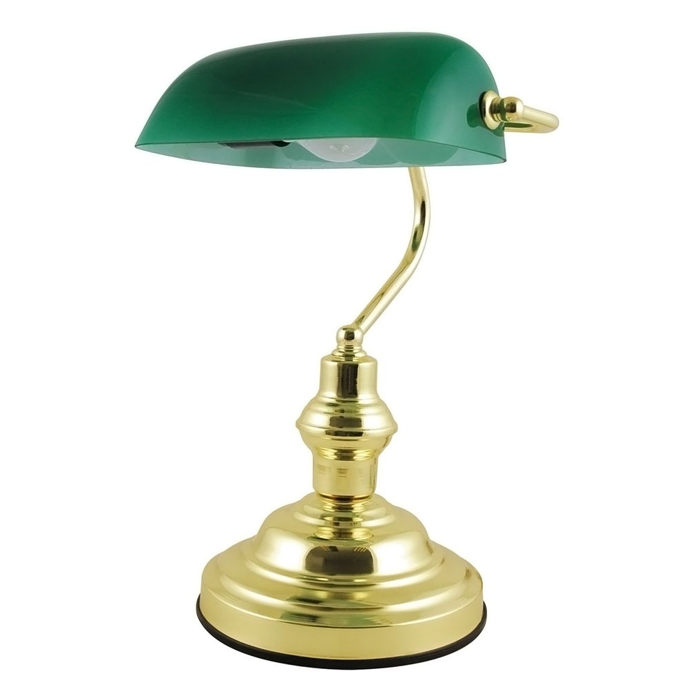 CLASSIC RETRO STYLE ADVOCATE BANKERS DESK LAMP TABLE LIGHT