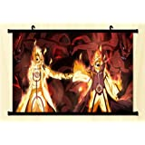1 X Naruto Fabric Wall Scroll Poster 24*16 Inches