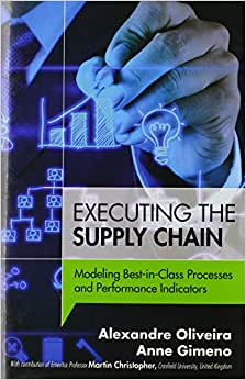 Executing The Supply Chain: Modeling Best-in-Class Processes And Performance Indicators (FT Press Operations Management)