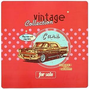 promobo set de table r tro vintage usa pub voiture affiche cuisine maison. Black Bedroom Furniture Sets. Home Design Ideas