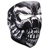 Hot Leathers Assassin Face Mask (Black)