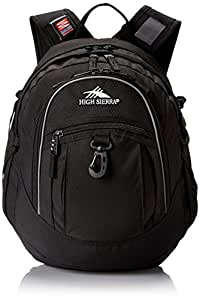 High Sierra 5420-0/V12 Fat Boy Backpack (Black)
