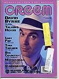 img - for Creem Magazine TALKING HEADS Motorhead QUICKSILVER Robert Cray IGGY POP Big Country DAVID BYRNE February 1987 (Creem Magazine) book / textbook / text book