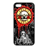 Cool Customized The Hard Rock Band Guns N' Roses Iphone 5 5s Case Cover ,Rubber Hard Back Cases Gift Idea At 007Fashion Boutique