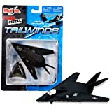 Maisto Fresh Metal Tailwinds 1:150 Scale Die Cast United States Military Aircraft - U.S. Air Force Stealth Ground...