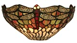 Dragonfly Tiffany Wall Light