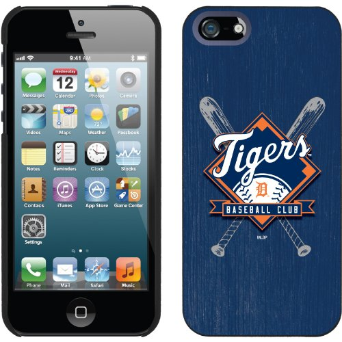 Best Price Detroit Tigers - Bats design on a Black iPhone 5 Thinshield Snap-On Case by Coveroo