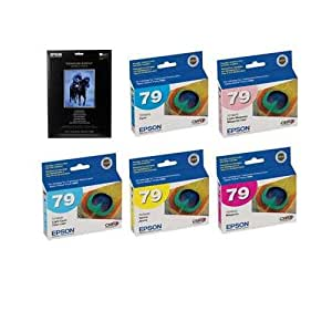 Epson Complete Ink & Paper Set for Epson Stylus Photo 1400 Printer