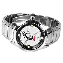 Cincinnati Bearcats UC NCAA Mens Titan Steel Watch