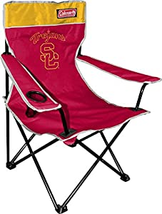 Buy NCAA USC Trojans Coleman Folding Chair With Carrying Case by Coleman