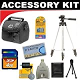 Deluxe DB ROTH Accessory Kit For The Samsung SMX-F54, F53, F50, H300, H303, H304, H305 Camcorder