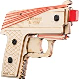 Bandit Guns Semi-Automatic Pistol Pete Rubber Band Gun Craft Kit