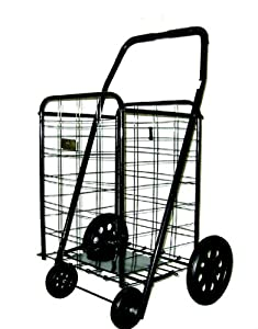 American Trading House, Inc. H1001XL-Heavy Duty Shopping Cart in Black