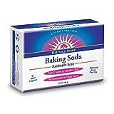 海外直送品Baking Soda Bar Soap, 3.5 oz by Heritage Products
