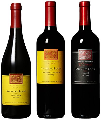 Smoking Loon Red Wine Mixed Pack, 3 X 750 Ml